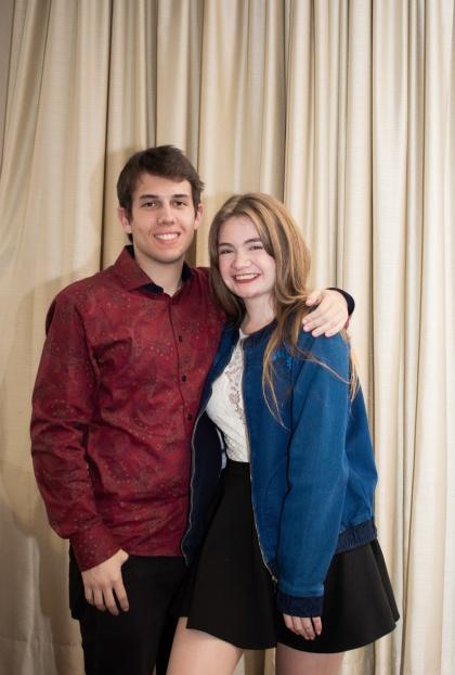 Fernando Fernandes e Grazi Klein