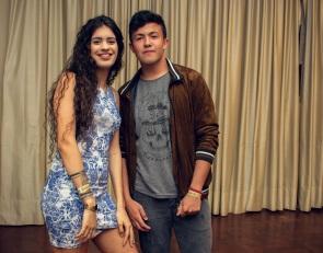 Ana Ritzel e Gabriel Adam
