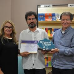 """""""Sonhos ao amanhecer"""", do escritor Doralino Souza da Rosa, foi o primeiro lugar na categoria Conto"""