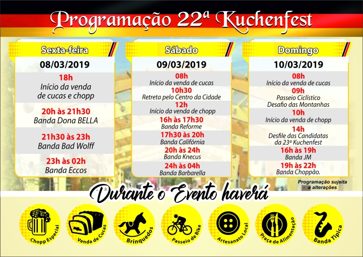22ª Kuchenfest - Panfletos 2
