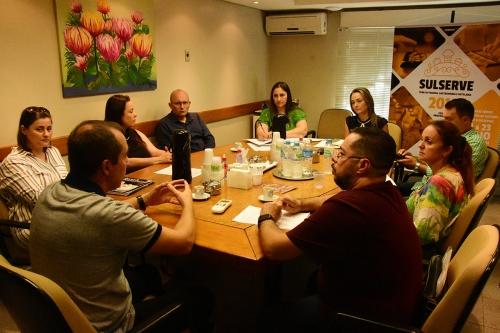 Sulserve - Reunião com entidades