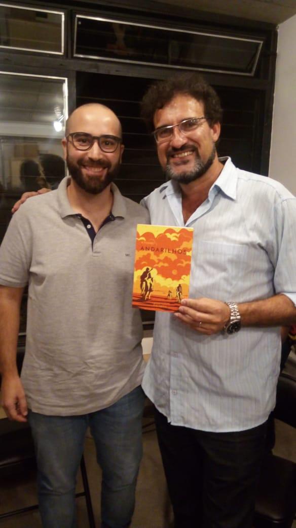 Rodrigo Tavares e Doralino Souza