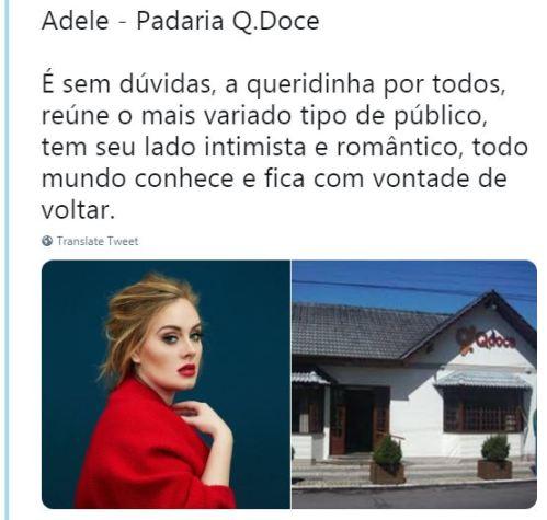 Adele - Padaria Q Doce