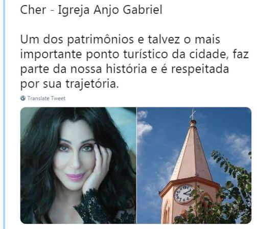 Cher - Igreja Gabriel