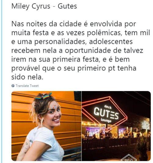 Miley Cyrus - Gutes