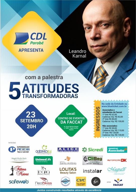 Cartaz A3 Leandro Karnal