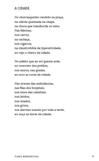 tiago - poesia
