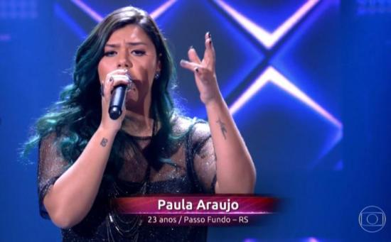 The Voice - Paula Araújo