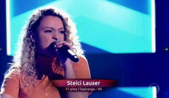 The Voice - Steici Lauser