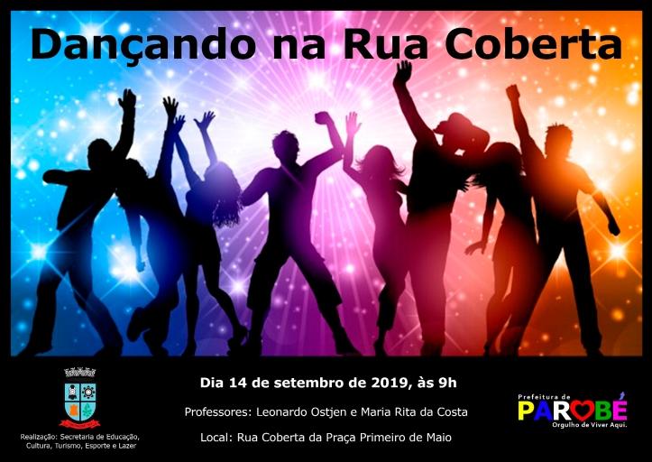 Dançando na Praça - setembro