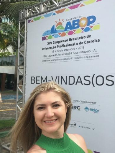 Presença no Congresso da ABOP em Maceió em Set-2019
