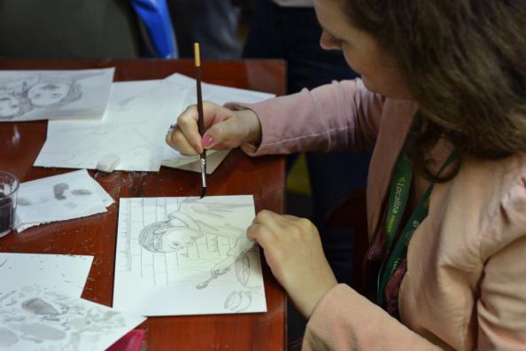 Lançamento Memorial - ilustradora Milena Viegas