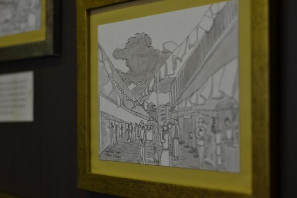 Memorial - ilustração sobre fuga de Ogyen do Tibet