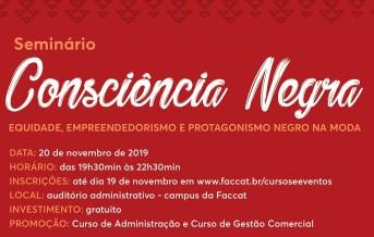 Seminário Consciência Negra 2019 2