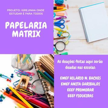 Materiais Escolares 2