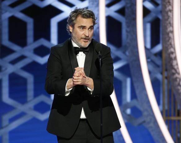 Joaquin Phoenix Globo de Ouro