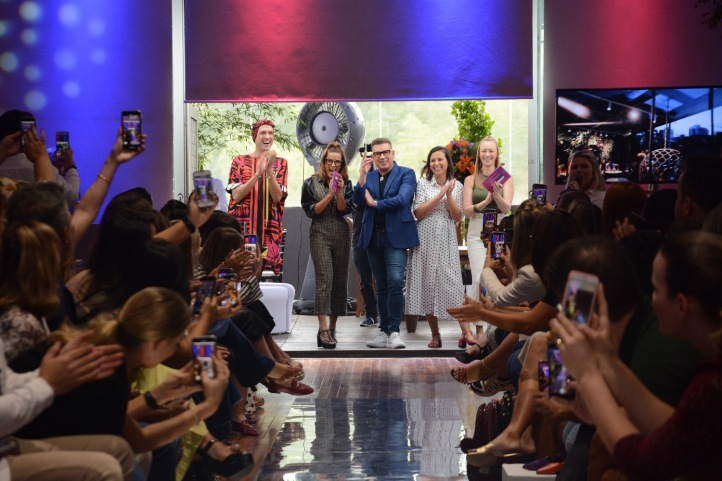 Jorge Bischoff - Encontro Nacional de Franqueados 2020 - abertura desfile de moda