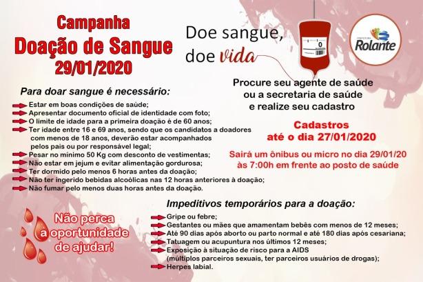 Rolante_Doação de Sangue