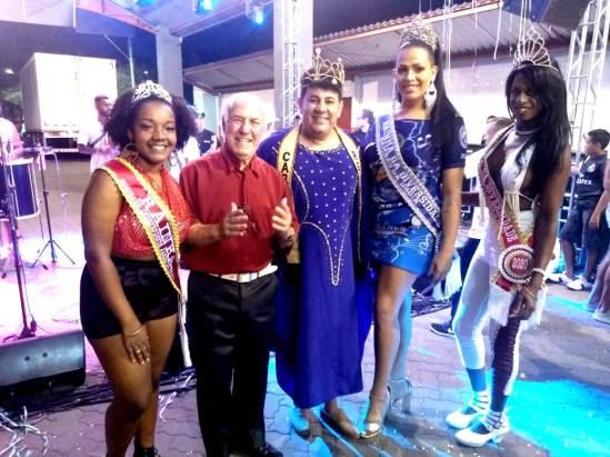 Carnaval - A corte com seu Sabino Foto Vinicius Linden
