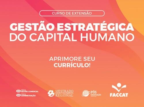 Curso Gestão Estratégica do Capital Humano_Noticia