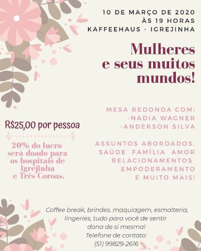 kaffeehaus - Dia da Mulher