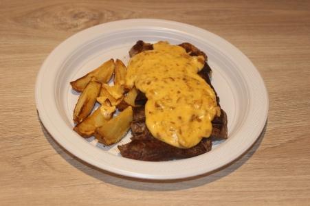 Xis do Vini Steak de Carne ao molho Crocante