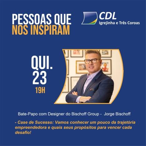 CDL promove webnário com Jorge Bischoff