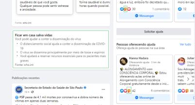 Facebook e Instagram Covid19 (1)