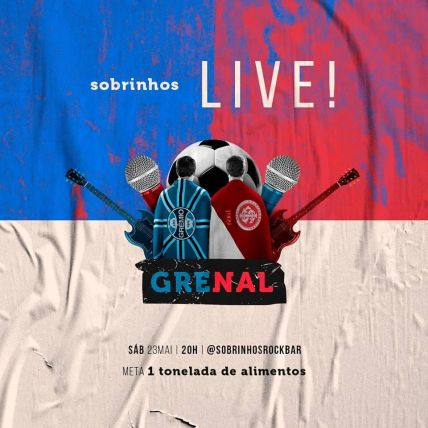 Grenal live solidária