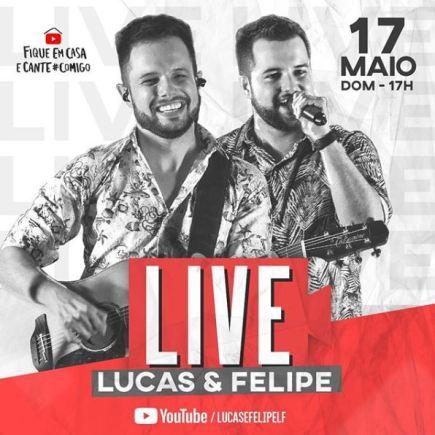 Lucas e Felipe live beneficente